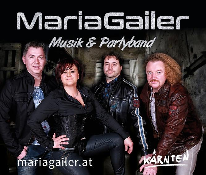 Webbanner 667 x 567 Pixel, Maria Gailer | Live - Musik & Partyband, Hochzeitsband, Rock & Pop