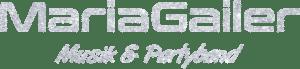 Logo, Maria Gailer | Live - Musik & Partyband, Hochzeitsband, Rock & Pop